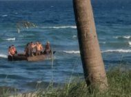 balseros cubanos tocan tierra en fort lauderdale; un herido