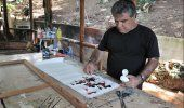 Roban 12 pinturas del excanciller cubano Roberto Robaina