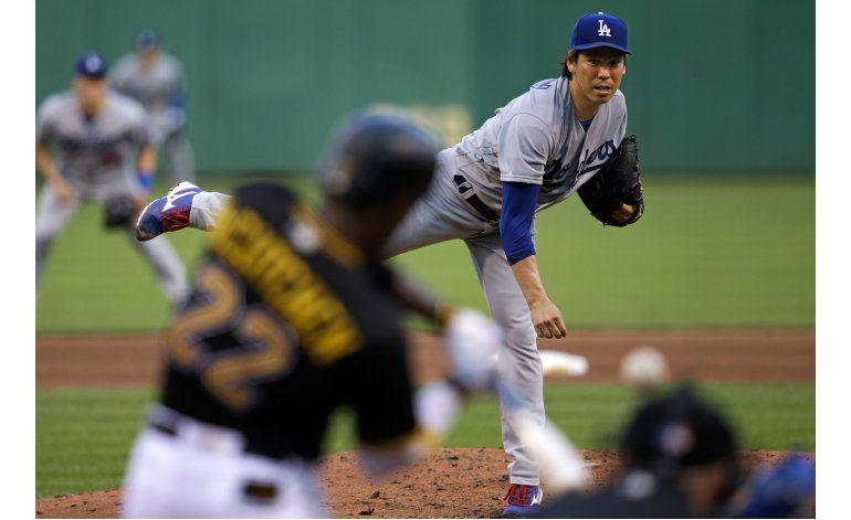 McCutchen pega 2 jonrones en triunfo de Piratas ante Dodgers