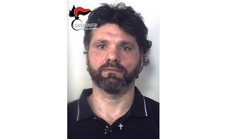 Capturan a mafioso italiano prófugo desde hace 20 años