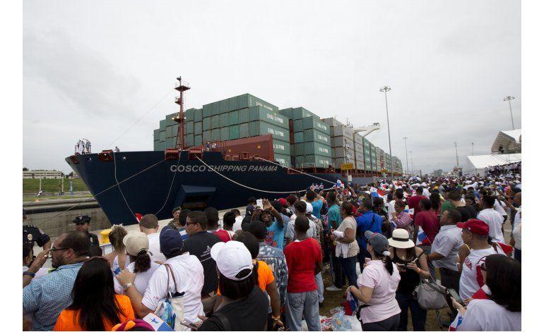 Panamá abre nueva era en el canal al inaugurar su expansión