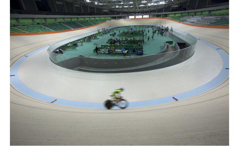 Tras demoras, velódromo de Río 2016 está casi listo