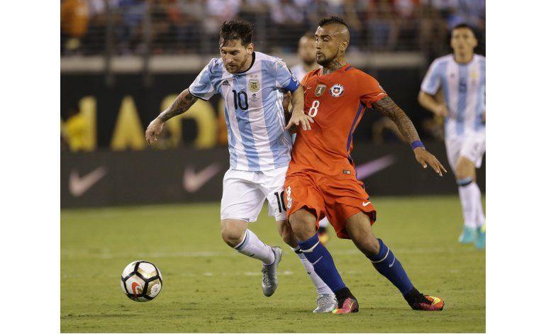 Chile gana la Copa Centenario y retira a Messi de selección