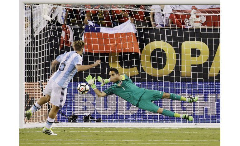 Bravo, el pilar de la selección de Chile