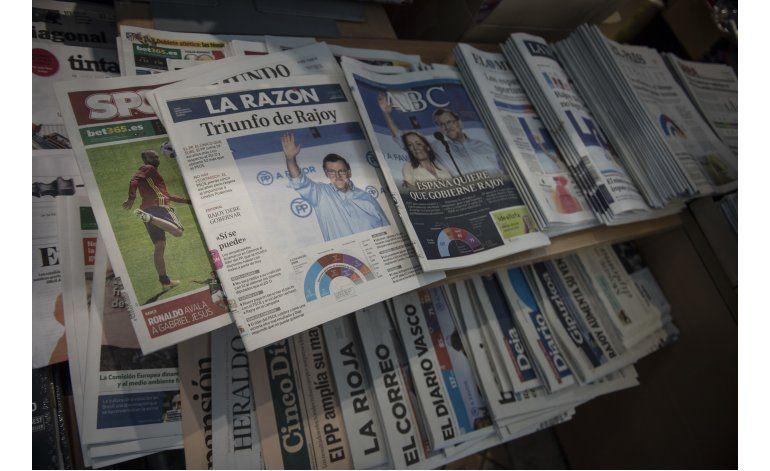 España: PP plantea coalición de gobierno a PSOE, que dice no