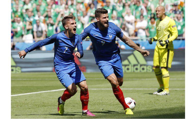 Un calendario dominical ayuda a Francia en la Eurocopa