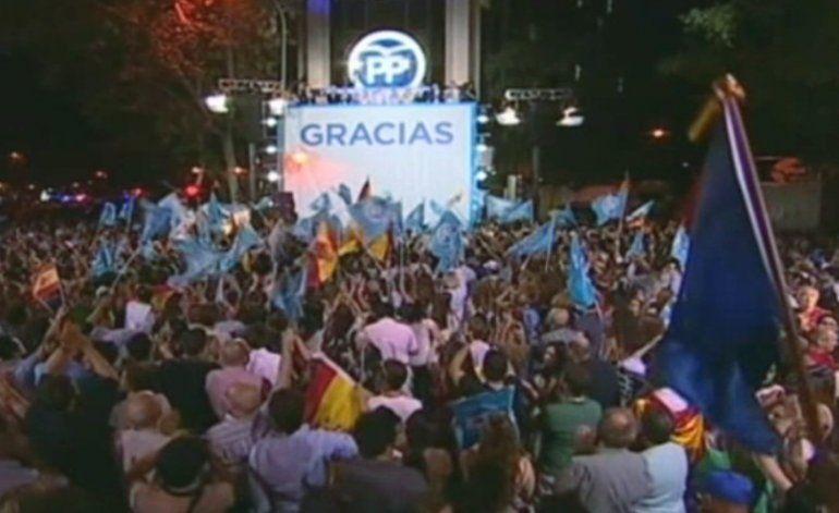 Partido Popular gana las elecciones en España