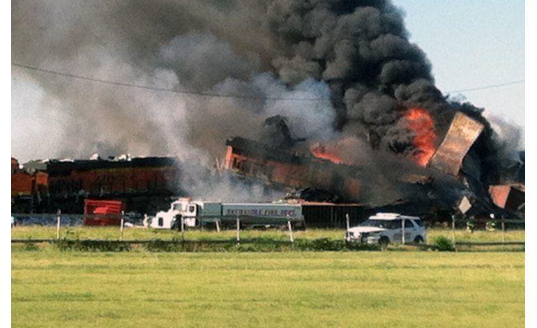 Texas: 3 desaparecidos y un lesionado por choque de trenes