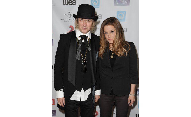 Lisa Marie Presley pide el divorcio