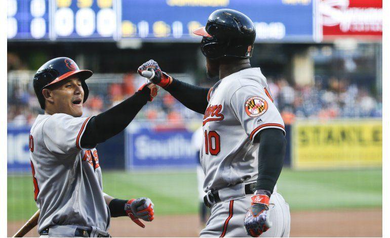 Orioles ganan a Padres con jonrones de Jones, Kim y Davis