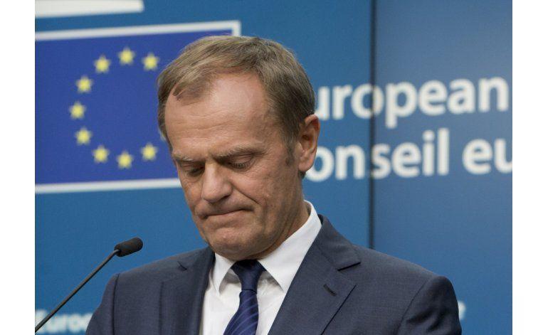 LO ULTIMO: Líderes europeos resueltos a mantener bloque
