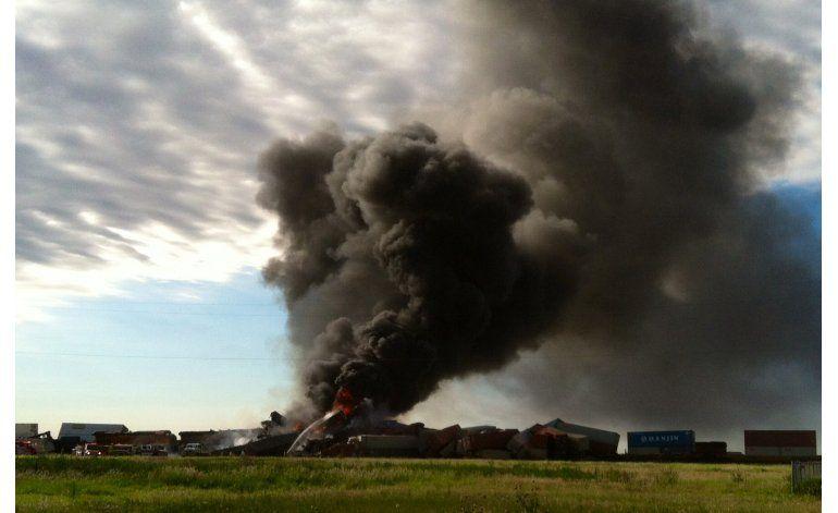 Probablemente muertos 3 tripulantes de trenes accidentados