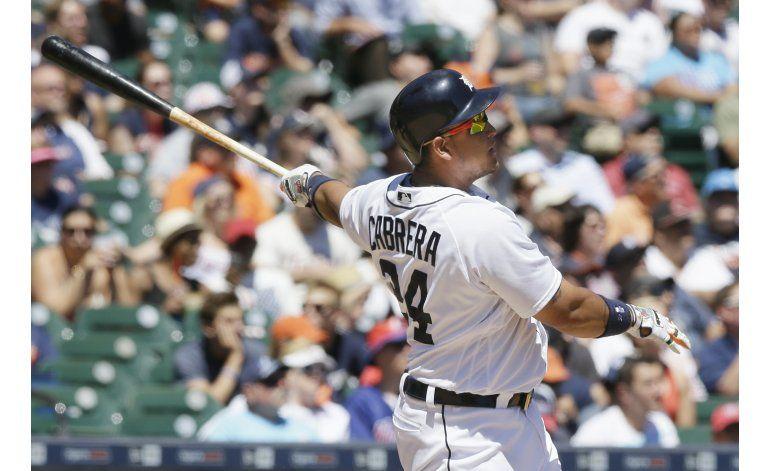 Cabrera batea 1 de 3 jonrones en triunfo de Tigres