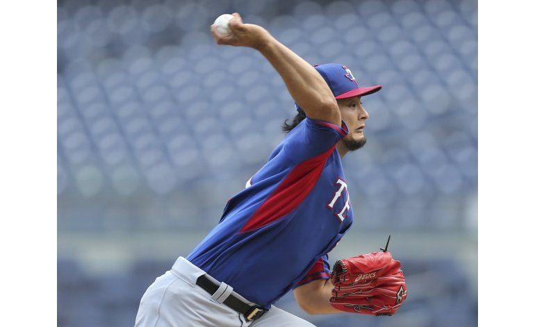Darvish podría volver tras pausa del Juego de Estrellas