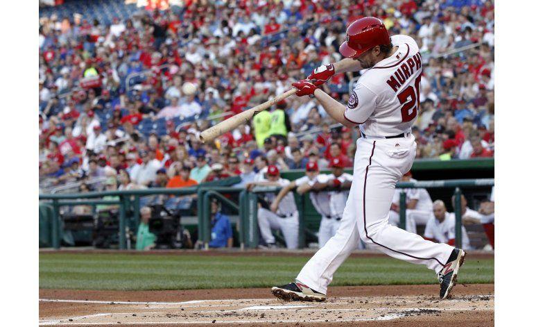 Nacionales barren a Mets de la mano de Murphy y Scherzer