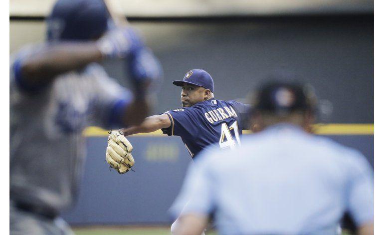 Guerra y Cerveceros doblegan a Dodgers