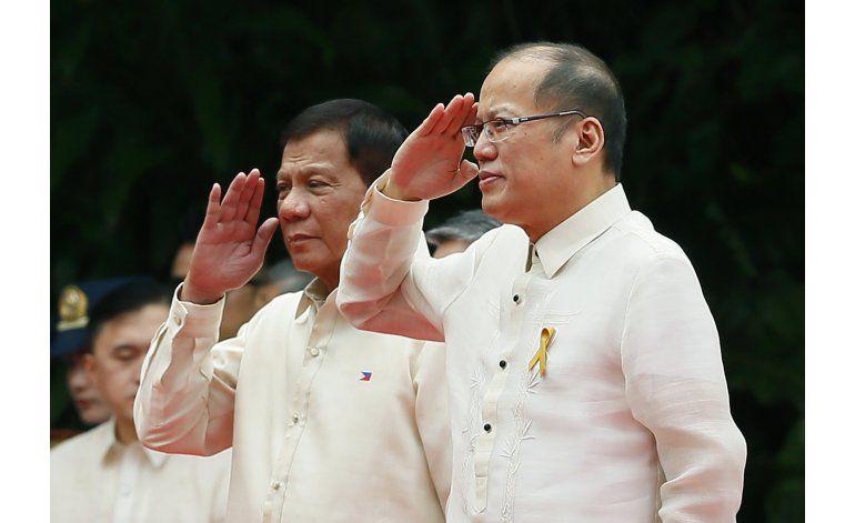 Duterte asume como presidente de Filipinas