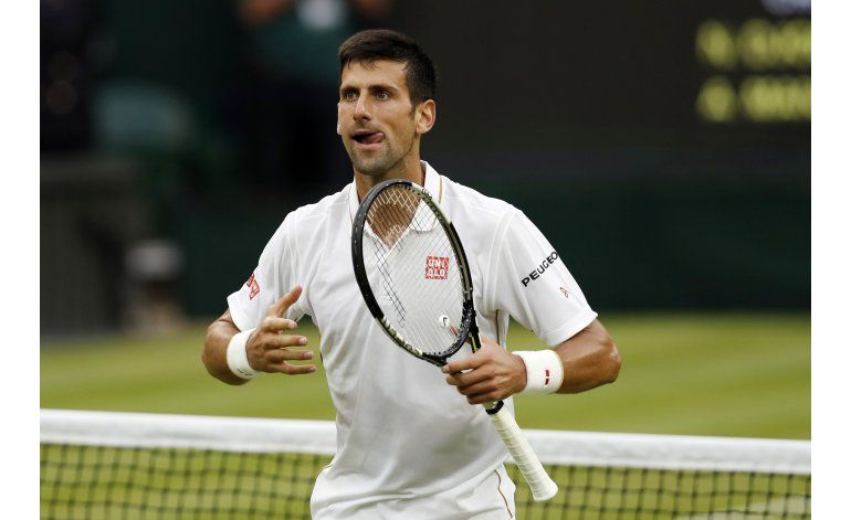 Djokovic, Federer y Murray encabezan lista de tenis en Río