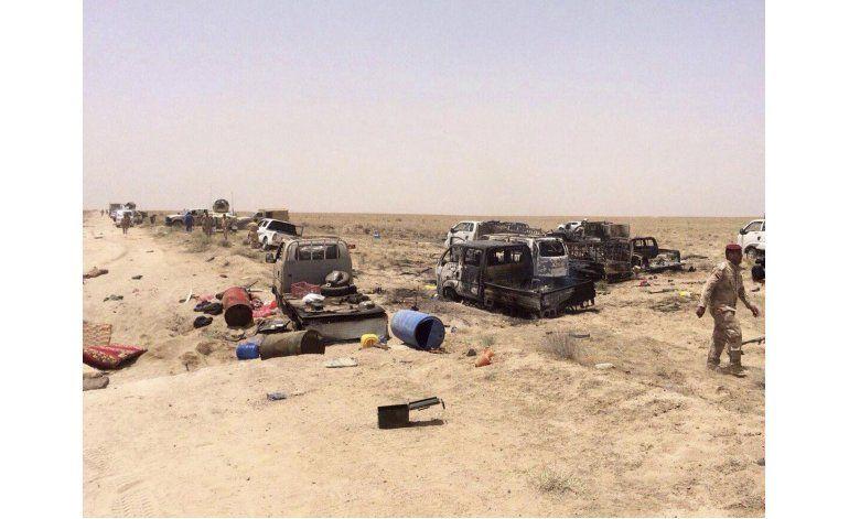 Irak dice haber destruido caravana del Estado Islámico