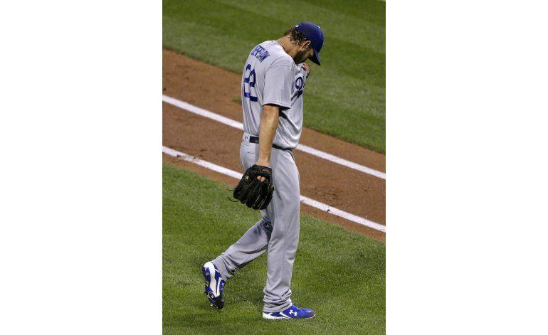 Dodgers colocan a Kershaw en lista de lesionados