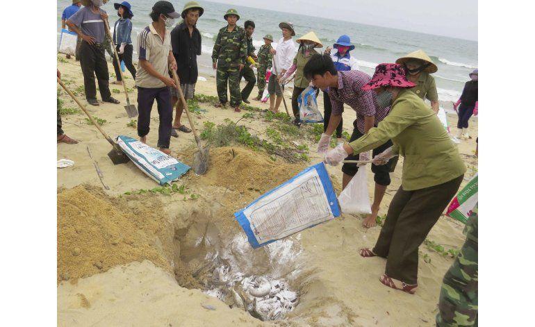 Vietnam acusa a firma taiwanesa de desastre medioambiental