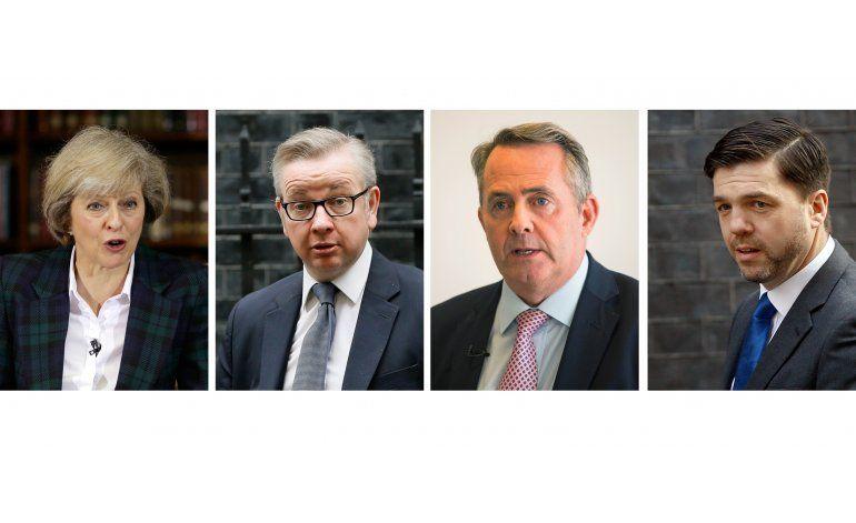 Candidato a premier británico: líder debe creer en Brexit