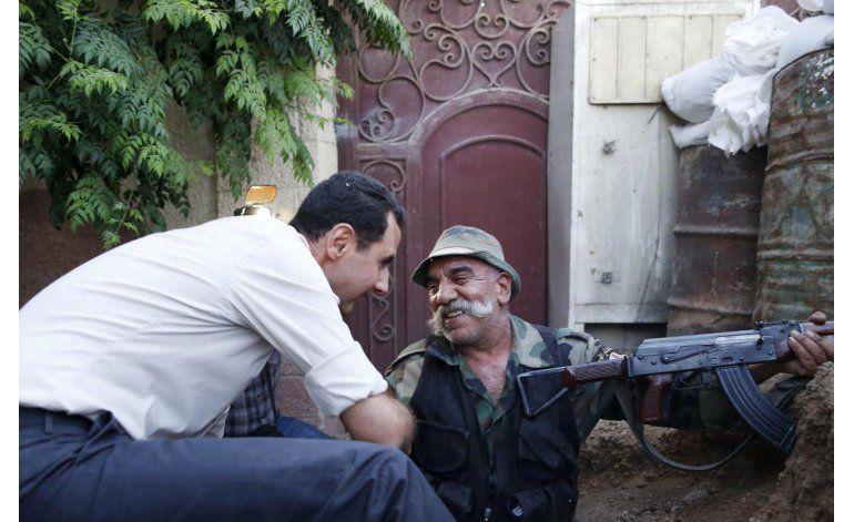 Assad: países de Occidente colaboran discretamente con Siria