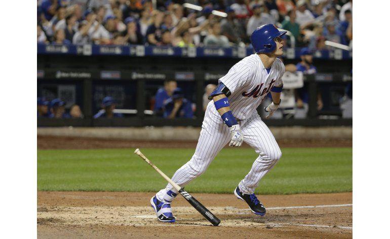 Nimmo jonronea en demoledor 10-2 de Mets sobre Cachorros