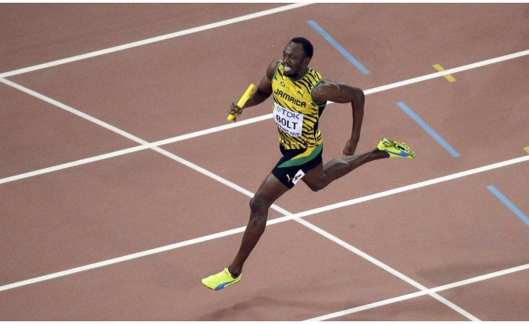 Bolt se lesiona a un mes de los Juegos de Río