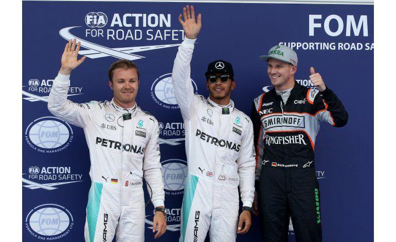 Hamilton logra la pole del GP de Austria