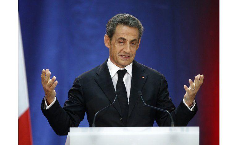 Sarkozy buscará candidatura presidencial con vistas a 2017