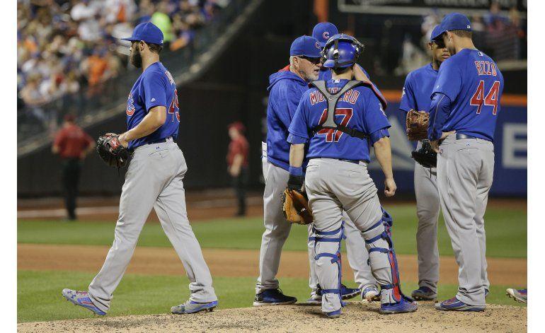 Ante Mets, 1ra derrota de Arrieta fuera de casa en 14 meses