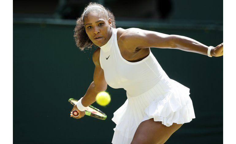 Serena Williams avanza a 4ta ronda en Wimbledon