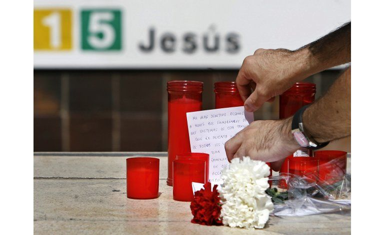 Valencia recuerda 10 años de accidente fatal en el metro