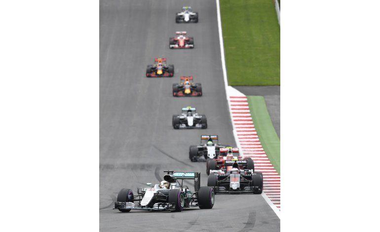Británico Lewis Hamilton se lleva el GP de Austria