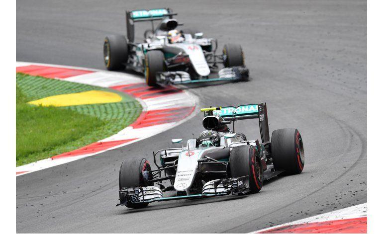 Largo historial de incidentes entre Rosberg y Hamilton