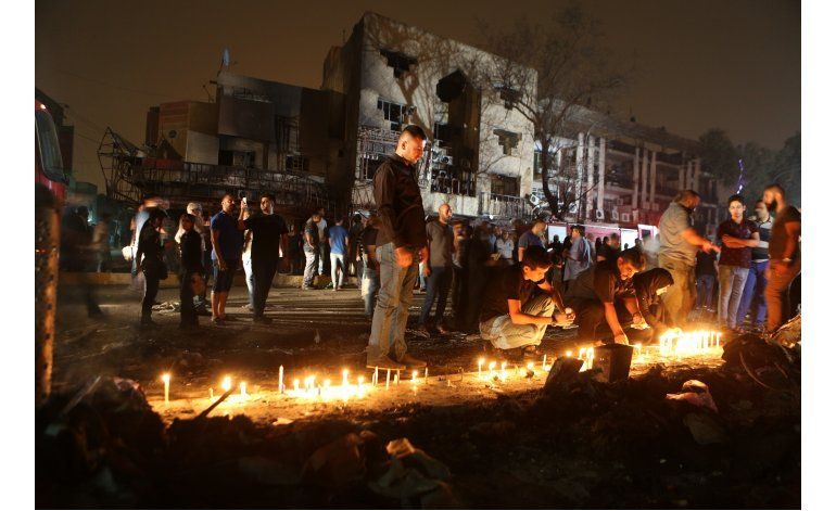 Suben a 157 los muertos por camión bomba en Bagdad
