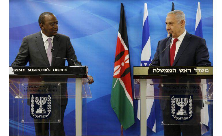 Netanyahu arriba a Uganda al inicio de gira por Africa
