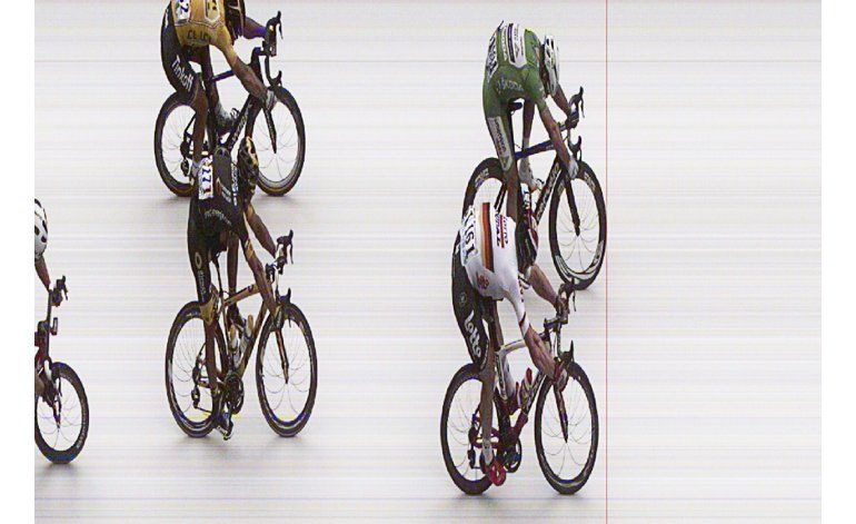 Cavendish gana 3ra etapa del Tour; Sagan sigue de líder
