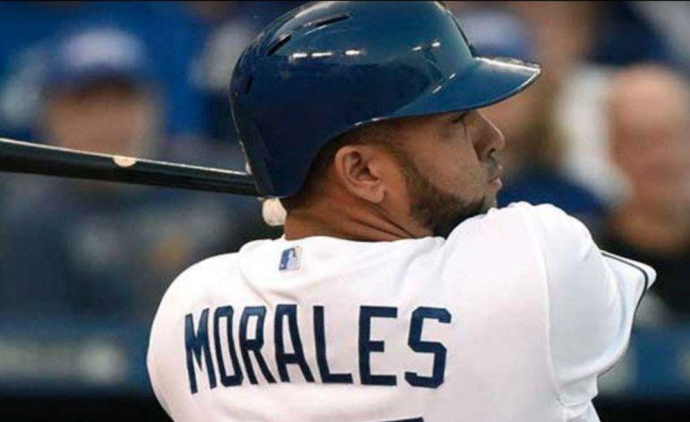 Kendry Morales sigue imparable con los Reales de Kansas