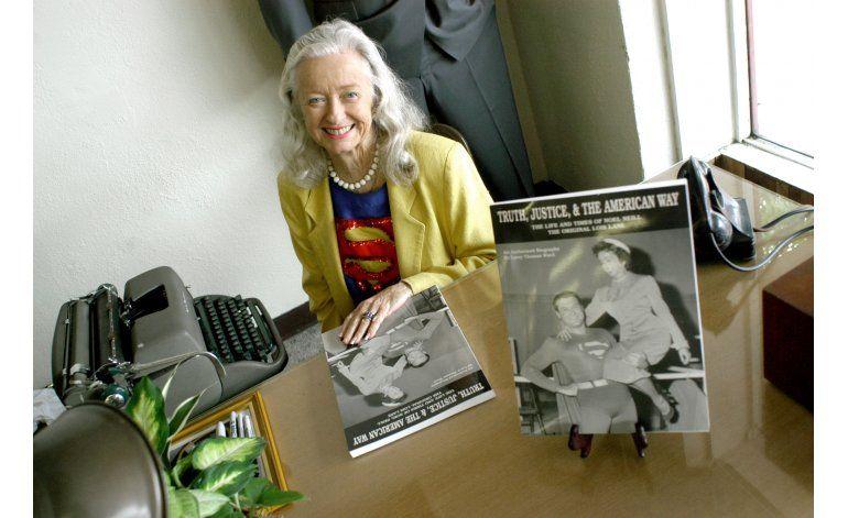 Muere Noel Neill, la primera Lois Lane de la pantalla