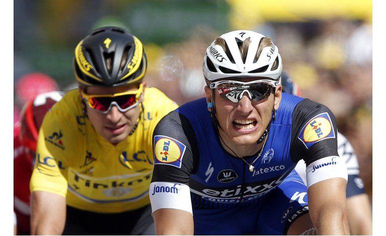 Kittel gana 4ta etapa del Tour de Francia