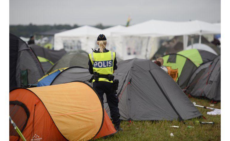 Decenas de reportes por abuso sexual en festivales en Suecia