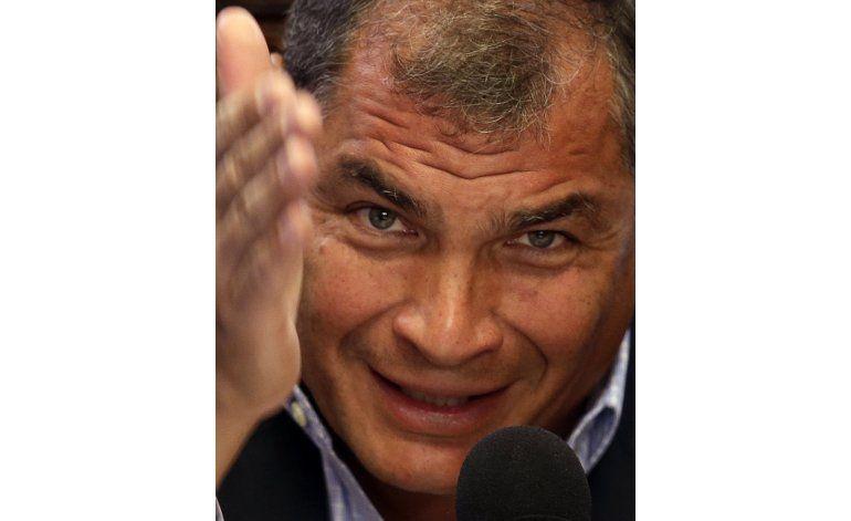 Correa: Se está atentando contra derechos humanos de Assange