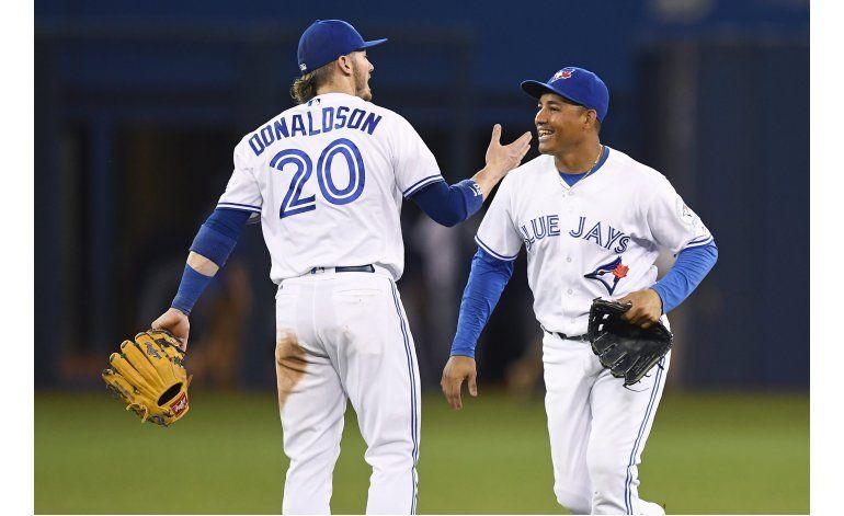 MLB: Toronto aplasta a Reales en feria de jonrones