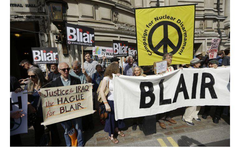 LO ULTIMO: Blair dice que el mundo está mejor sin Saddam