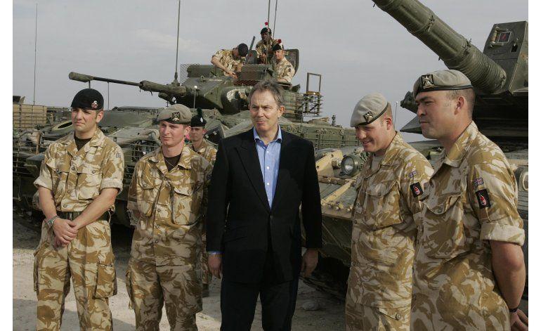Comisión británica fustiga a Blair por invasión de Irak