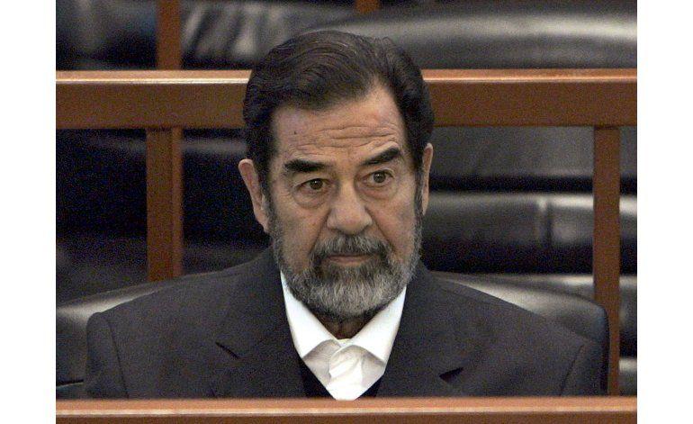 Trump: Saddam era bueno al matar terroristas