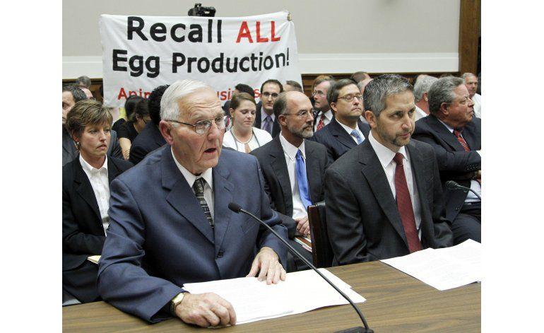 Cárcel para ejecutivos de huevos por brote de salmonela