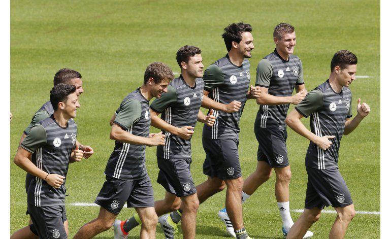 Alemania amenaza el sueño francés de un título en casa